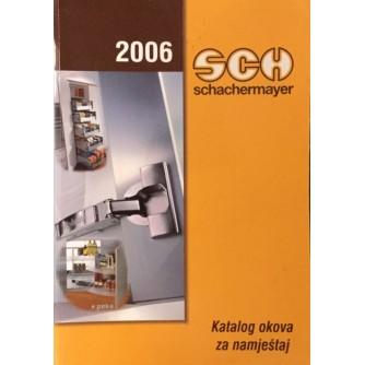 2006 Schachermayer: Katalog okova za namještaj